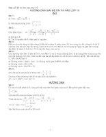 14 đề thi THPT có đáp án