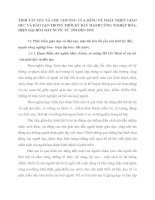 TÍNH TẤT YẾU VÀ CHỦ CHƯƠNG CỦA ĐẢNG VỀ PHÁT TRIỂN GIÁO DỤC VÀ ĐÀO TẠO TRONG THỜI KỲ ĐẨY MẠNH CÔNG NGHIỆP HÓA