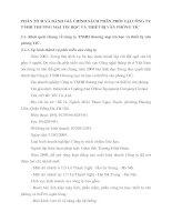 PHÂN TÍCH VÀ ĐÁNH GIÁ CHÍNH SÁCH PHÂN PHỐI TẠI CÔNG TY TNHH THƯƠNG MẠI TIN HỌC VÀ THIẾT BỊ VĂN PHÒNG TIC