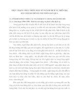 THỰC TRẠNG PHÁT TRIỂN MỘT SỐ NGÀNH DỊCH VỤ TRÊN ĐỊA BÀN THÀNH PHỐ HÀ NỘI THỜI GIAN QUA