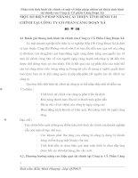 MỘT SỐ BIỆN PHÁP NHẰM CẢI THIỆN TÌNH HÌNH TÀI CHÍNH TẠI CÔNG TY CỔ PHẦN CẢNG ĐOẠN XÁ