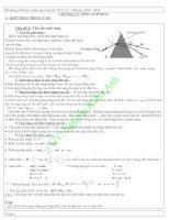 Kiến thức và bài tập luyện thi Vật lý 12 năm học 2010 - 2011
