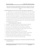 MỘT SỐ GIẢI PHÁP VÀ KIẾN NGHỊ GIÚP CÔNG TÁC QUẢN LÝ RỦI RO TÍN DỤNG TẠI NGÂN HÀNG TMCP SÀI GÒN CÔNG THƯƠNG ĐẠT HIỆU QUẢ