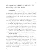 MỘT SỐ Ý KIẾN ĐỀ XUẤT NHẰM HOÀN THIỆN CÔNG TÁC KẾ TOÁN TẠI NHÀ MÁY VẬT LIỆU BƯU ĐIỆN