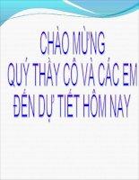 Bai 9: Bai trinh chieu Tiet 1