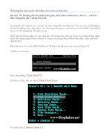 Cach tạo và bug file Ghost dự phòng cho máy