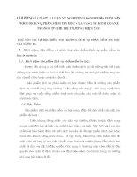 CHƯƠNG I CƠ SỞ LÝ LUẬN VỀ NGHIỆP VỤ KÊNH PHÂN PHỐI SẢN PHẨM DỊCH VỤ PHẦN MỀM TIN HỌC CỦA CÔNG TY KINH DOANH TRONG CƠ CHẾ THỊ TRƯỜNG HIỆN NAY