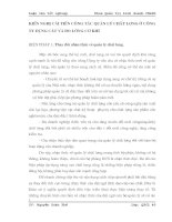 KIẾN NGHỊ CẢI TIẾN CÔNG TÁC QUẢN LÝ CHẤT LƯỢNG Ở CÔNG TY DỤNG CẮT VÀ ĐO LƯỜNG CƠ KHÍ