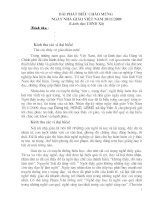 Phat bieu cua Lanh dao ngày 20.11