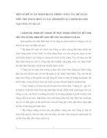 MỘT SỐ ĐỀ XUẤT NHẰM HOÀN THIỆN CÔNG TÁC KẾ TOÁN TIÊU THỤ HÀNG HOÁ VÀ XÁC ĐỊNH KẾT QUẢ KINH DOANH TẠI CÔNG TY HÀ AN