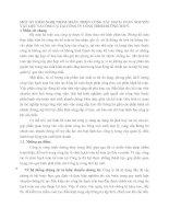 MỘT SỐ KIẾM NGHỊ NHẰM HOÀN THIỆN CÔNG TÁC HẠCH TOÁN NGUYÊN VẬT LIỆU VÀ CÔNG CỤ TẠI CÔNG TY CÔNG TRÌNH ĐƯỜNG THUỶ