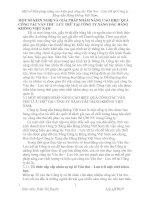 MỘT SỐ KIẾN NGHỊ VÀ GIẢI PHÁP NHẰM NÂNG CAO HIỆU QUẢ CÔNG TÁC VĂN THƯ  LƯU TRỮ TẠI CÔNG TY XĂNG DẦU HÀNG KHÔNG VIỆT NAM
