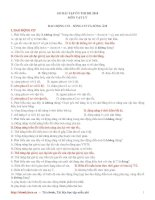 185 bài tập trắc nghiệm ôn thi ĐH Vật lý 2010