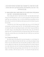 GIẢI PHÁP NÂNG CAO HIỆU QUẢ NGHIỆP VỤ CHO VAY VÀ KẾ TOÁN CHO VAY TẠI NGÂN HÀNG LIÊN DOANH LÀO VIỆT  CHI NHÁNH HÀ NỘI