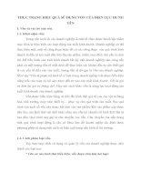 THỰC TRẠNG HIỆU QUẢ SỬ DỤNG VỐN CỦA ĐIỆN LỰC HƯNG YÊN