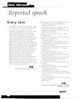 Grammar and Vocabulary for Cambridge Advanced and Proficiency - Reported speech