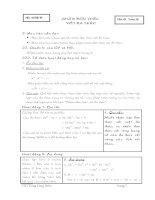 Giáo an đại số 8 chuẩn kiến thức (Trang Công Hiển)