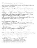 Đề thi đại học môn Vật lí (Đề số 1)