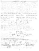 Chuyên đề luyện thi đại học môn Toán P15