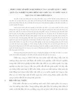 PHẦN 3 MỘT SỐ KIẾN NGHỊ NHẰM NÂNG CAO KẾT QUẢ VÀ HIỆU QUẢ CỦA NGHIỆP VỤ BẢO HIỂM VẬT CHẤT XE Ô TÔ NƯỚC NGOÀI TẠI CÔNG TY BẢO HIỂM PJICO