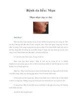 Bệnh da liễu: Mụn