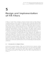 Real-Time Digital Signal Processing - Chapter 5: Design and Implementation of FIR Filters
