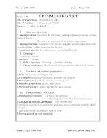 Grammar practice 2 (cũ)