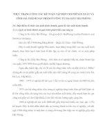 THỰC TRẠNG CÔNG TÁC KẾ TOÁN TẬP HỢP CHI PHÍ SẢN XUẤT VÀ TÍNH GIÁ THÀNH SẢN PHẨM Ở CÔNG TY DA GIẦY HẢI PHÒNG