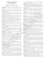 101 Bài tập tự luận về con lắc đơn
