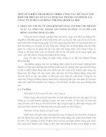 MỘT SỐ Ý KIẾN NHẰM HOÀN THIỆN CÔNG TÁC KẾ TOÁN TẬP HỢP CHI PHÍ SẢN XUẤT VÀ TÍNH GIÁ THÀNH SẢN PHẨM TẠI CÔNG TY IN BỘ LAO ĐỘNG-THƯƠNG BINH-XÃ HỘI