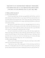 NHẬN XẫT VÀ CÁC GIẢI PHÁP HOÀN THIỆN QUY TRèNH KIỂM TOÁN KHOẢN MỤC ĐẦU TƯ TÀI CHÍNH DÀI HẠN TRONG KIỂM TOÁN BÁO CÁO TÀI CHÍNH DO CễNG TY AASC THỰC HIỆN
