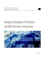 Manage the Explosion of Information with IBM Information Infrastructure
