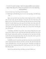 CƠ SỞ LÝ LUẬN VÀ THỰC TIỄN CỦA HOẠT ĐỘNG XUẤT KHẨU HÀNG DỆT MAY CỦA CÔNG TY CỔ PHẦN CUNG ỨNG DỊCH VỤ HÀNG KHÔNG