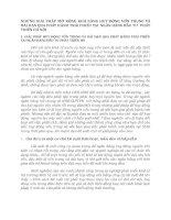 NHỮNG GIẢI PHÁP MỞ RỘNG KHẢ NĂNG HUY ĐỘNG VỐN TRUNG VÀ DÀI HẠN QUA PHÁT HÀNH TRÁI PHIẾU TẠI  NGÂN HÀNG ĐẦU TƯ  PHÁT TRIỂN HÀ NỘI