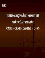 Truong hop bang nhau thu nhat cua tam giac c[1].c.c