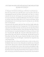 THỰC TRẠNG HOẠT ĐỘNG XUẤT KHẨU GẠO CỦA VIỆT NAM TRONG ĐIỀU KIỆN HỘI NHẬP KINH TẾ QUỐC TẾ