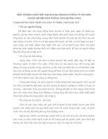 MỘT SỐ BIỆN PHÁP ĐẨY MẠNH KINH DOANH Ở CÔNG TY VÂN ĐỒN THUỘC BỘ ĐỘI BIÊN PHÒNG TỈNH QUẢNG NINH