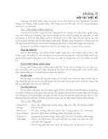 chương 10 : hệ thống thiết kế