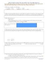 Đáp án đề cương ôn tập lý 8 hk1 nh10-11