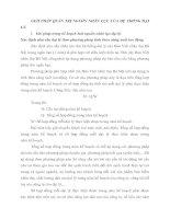 GIẢI PHÁP QUẢN TRỊ NGUỒN NHÂN LỰC CỦA HỆ THỐNG ĐẠI LÝ