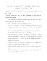 GIẢI PHÁP PHÁT TRIỂN DỊCH VỤ NGÂN HÀNG BÁN LẺ TẠI CHI NHÁNH NHCT CHƯƠNG DƯƠNG