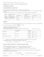 Hệ thống Lý thuyết + Bài tập hóa 10 - LTĐH