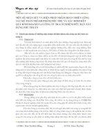 MỘT SỐ NHẬN XÉT VÀ BIỆN PHÁP NHẰM HOÀN THIỆN CÔNG TÁC KẾ TOÁN THÀNH PHẨM TIÊU THỤ VÀ XÁC ĐỊNH KẾT QUẢ KINH DOANH TẠI CÔNG TY TRÁCH NHIỆM HỮU HẠN XÂY DỰNG PHÚ NHUẬN