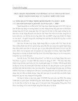 THỰC TRẠNG THẨM ĐỊNH TÀI CHÍNH DỰ ÁN VAY VỐN TẠI SỞ GIAO DỊCH 3 NGÂN HÀNG ĐẦU TƯ VÀ PHÁT TRIỂN VIỆT NAM