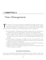 Project Management Professional-Chapter 2