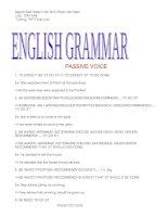 Ngữ Pháp Tiếng Anh Nâmg Cao