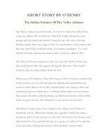 LUYỆN ĐỌC TIẾNG ANH QUA TÁC PHẨM VĂN HỌC-SHORT STORY BY O'HENRY- The Indian Summer Of Dry Valley