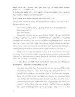 PHÂN TÍCH THỰC TRẠNG CÔNG TÁC ĐÀO TẠO VÀ PHÁT TRIỂN NGUỒN NHÂN LỰC TẠI CÔNG TY 20