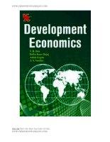 Đề thi môn: Kinh tế phát triển