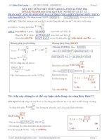 Giải nhanh trắc nghiệm vật lý 12 bằng máy tính CASIOfx570ES & 570ES plus